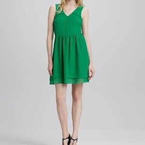 Marc by Marc Jacobs KElly Green Silk Party Dress 4